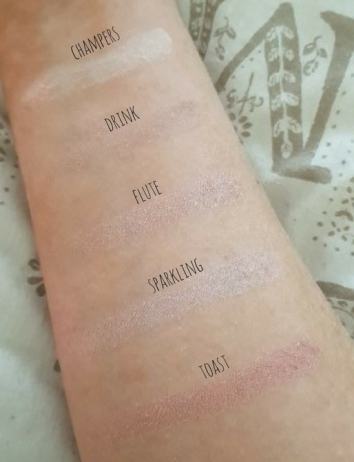 pf swatches