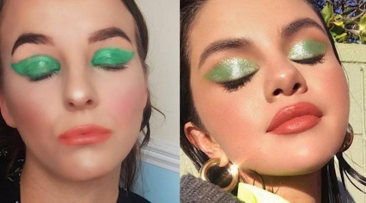 Selena Gomez Inspired Makeup Look Littleblogofmakeup